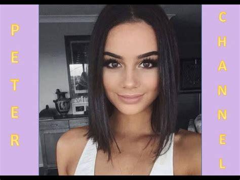 imgenes de cortes de cabello parejo bob 2016 c 243 mo cortar el cabello recto 20 opciones 2017 cutting