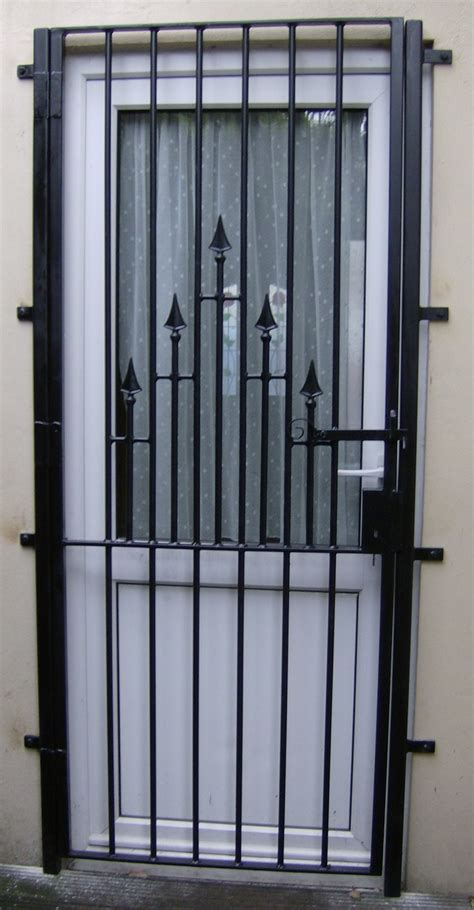 Security Gates For Doors by Wrought Iron Security Gates And Grills