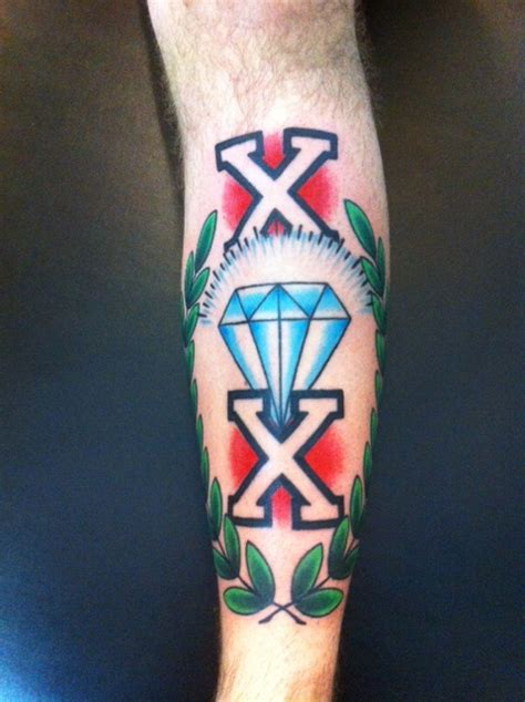 straight edge tattoo edge cobra custom