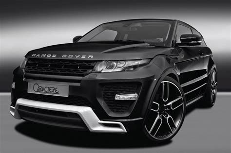 land rover evoque black and white range rover evoque by caractere