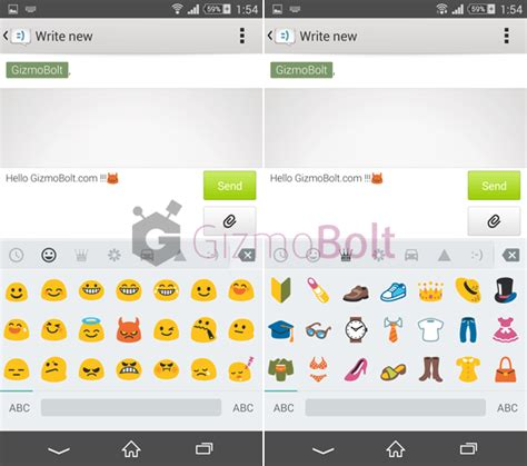 keyboard emojis for android android 5 0 lollipop keyboard emoji gizmo bolt exposing technology social media web