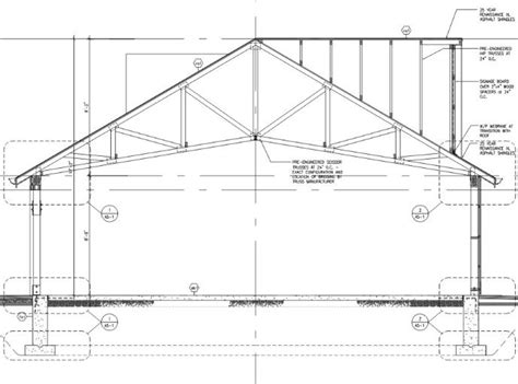 truss section jacques bergeron drafting design