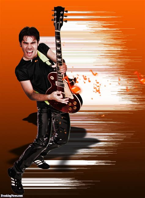 who is the guitar player on the direct tv commercial guitar player pop art pictures