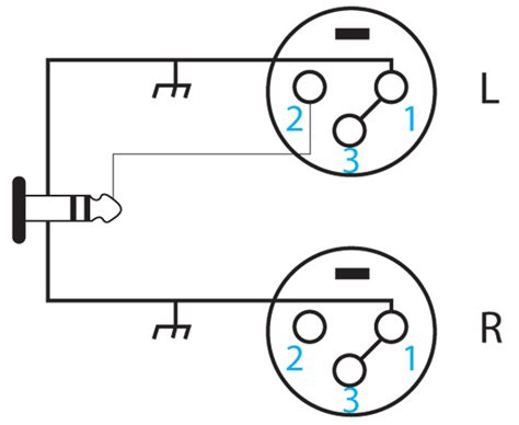 stereo xlr wiring diagram get free image about wiring