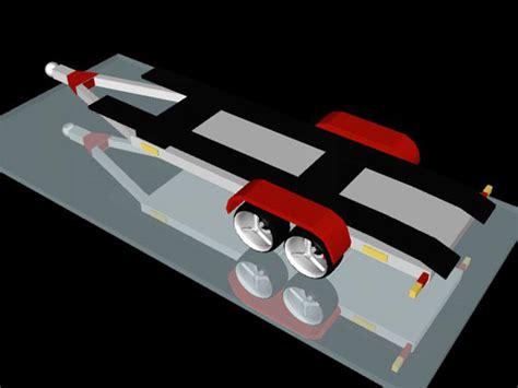 trailer design software flatbed trailer design carretinha 3ds 3d studio max software transportation objects