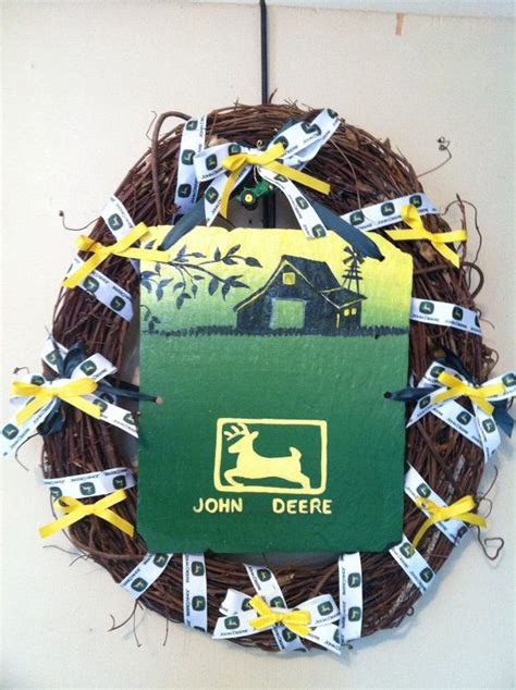 deere wreath home decor deere decor