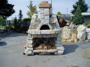 isokern outdoor fireplace outdoor fireplace oven photo