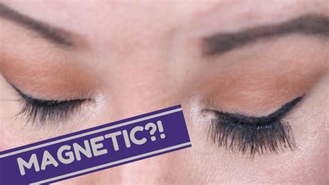 Magnetic Eyelashes False Lashes One Two Lash applying magnetic lashes quot one two lash quot magnetic false