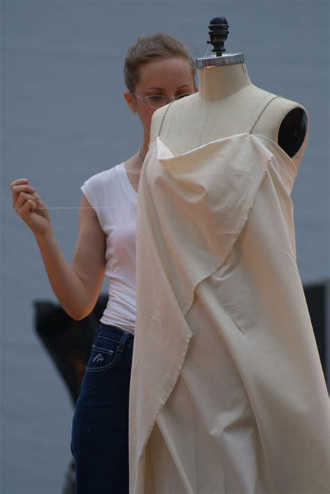 garment draping draping demonstration final fashion