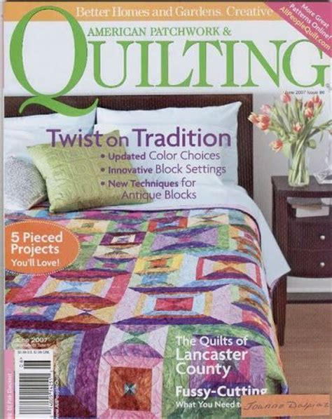 American Patchwork And Quilting Website - 21 best images about quilts apq on posts