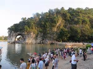 Elephant hill picture of elephant trunk hill xiangbishan guilin