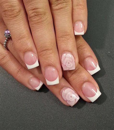 easy nail art french manicure 35 french nail art ideas nenuno creative