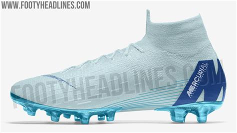 light blue football cleats ice blue nike mercurial superfly 6 elite 2018 boots