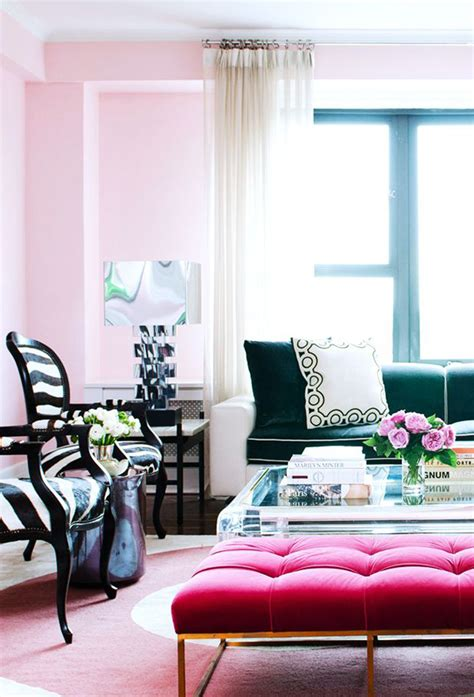 pink and green living room on fridays we wear pink swoon worthy