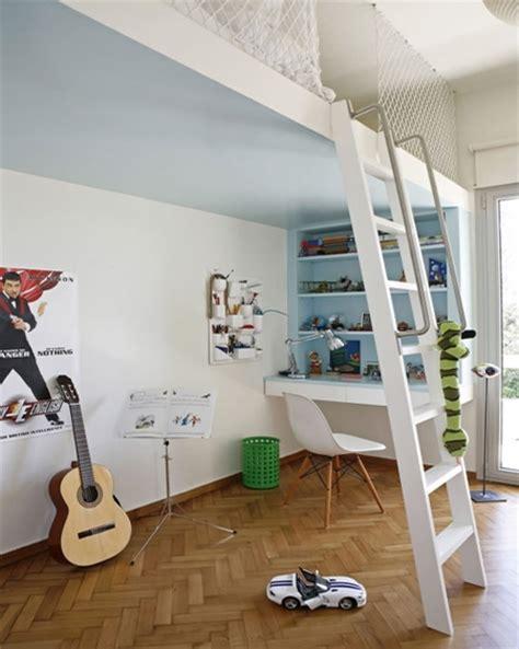 raised bed in bedroom home dzine bedrooms loft bed ideas for children s rooms