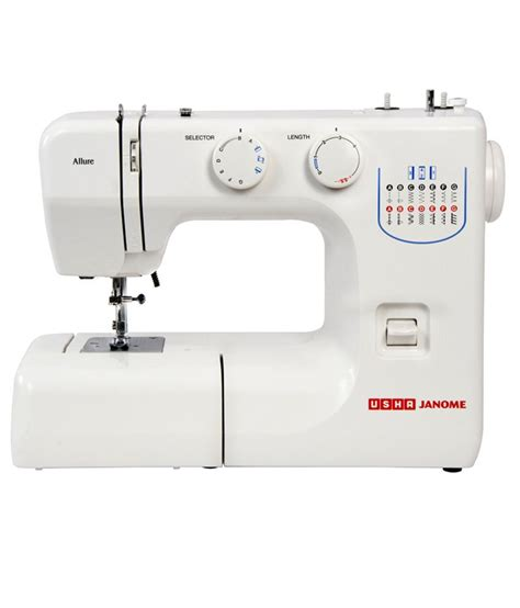 Usha Janome Allure Sewing Machine Price In India 22 Jan