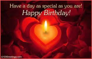 birthday wishes for someone special wish a happy birthday to someone special with this