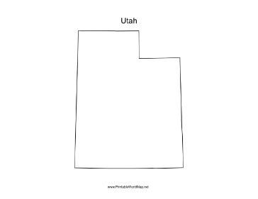 Of Utah European Mba Program by Utah Blank Map
