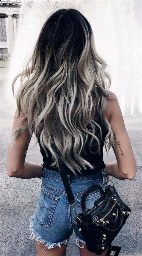 Ombre Hair For Black Hair Hair by Best 25 Black Hair Ombre Ideas On Highlights