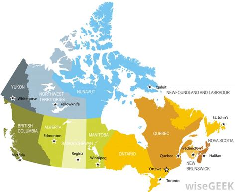 map of canadian provinces what is a province with pictures