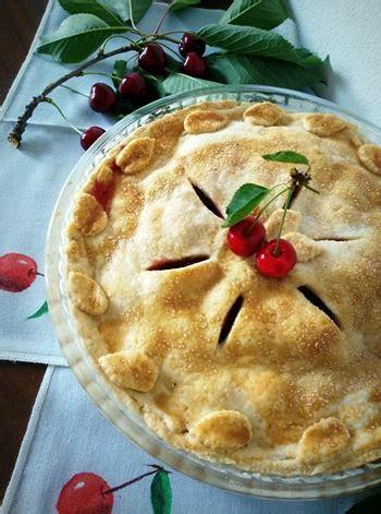 cucina tipica americana cherry pie la tipica torta di ciliegie americana ladyblitz