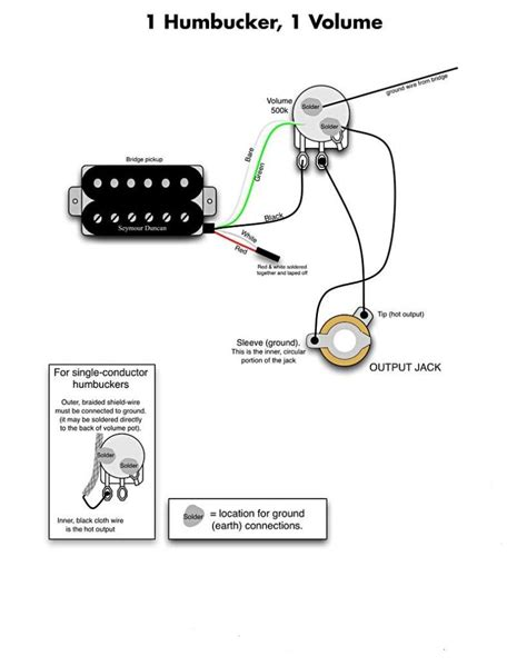single humbucker wiring my les paul forum