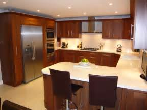 U Shaped Kitchen Layout With Island Modular Kitchen Designs