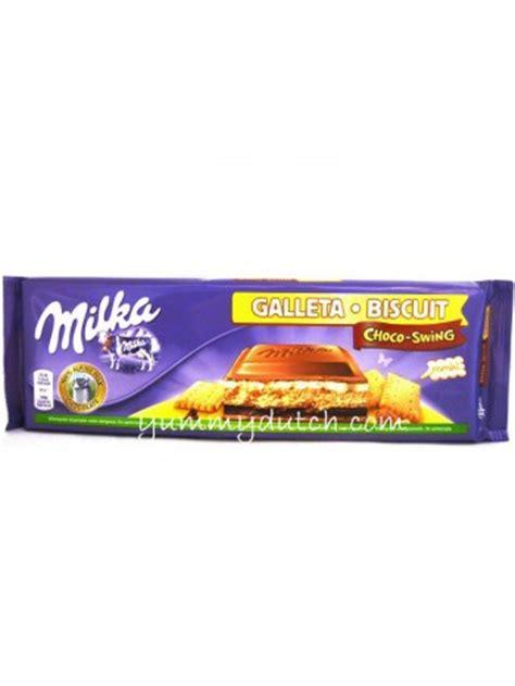 milka choco swing choco swing milk chocolate bar milka yummy dutch