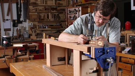 mini workbench  detail work easier finewoodworking
