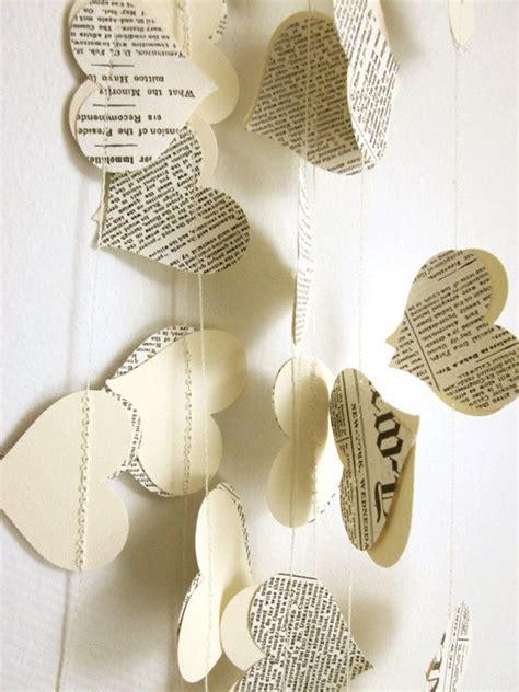 angelitos con periodoco hermosas guirnaldas express hechas con papel i24mujer