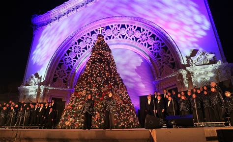 balboa park tree lighting 2017 december nights to light up balboa park the san diego