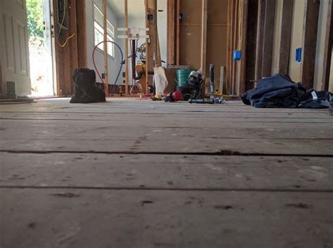 flooring   Tiling over old 2x6 tongue and groove subfloor