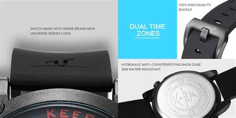 Terlaris Jam Tangan Pria Weide Black Dual Time Zone Original Wat weide universe series jam tangan sport pria dual time