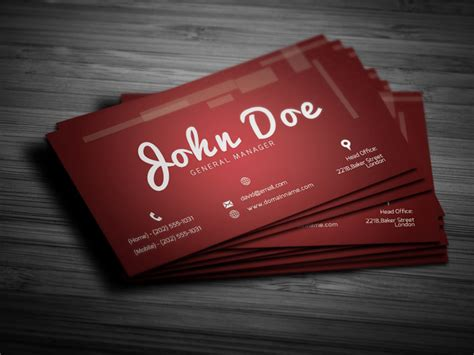 personal cards templates 28 personal business cards free premium templates