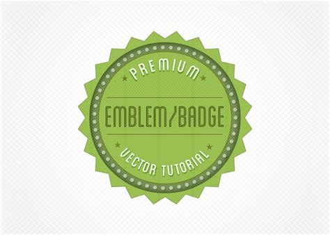 tutorial illustrator logo vintage create a retro badge emblem logo in illustrator