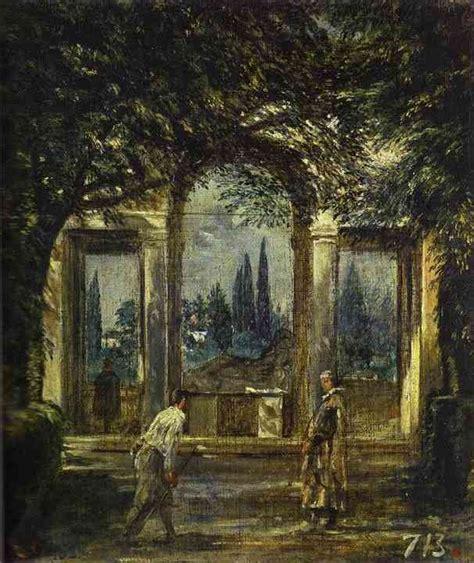 villa medici in rome diego velazquez painting