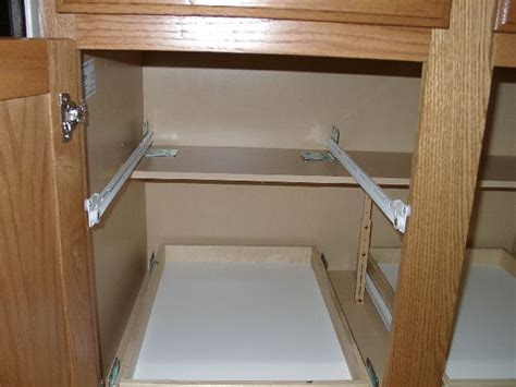 kitchen cabinet shelf slides face frame cabinet drawer slides mf cabinets