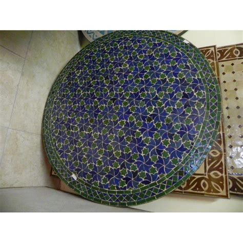 tavoli mosaico tavolo zellij mosaico tondo emporio d oltremare