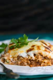 ingredients for lasagna with cottage cheese 3 cheese lasagna recipe s kitchen