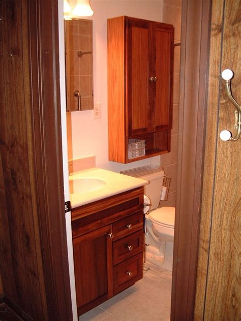 handmade custom bathroom vanity and wall cabinet bs by