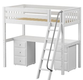 wooden loft bed with desk wood loft beds with desk study loft beds