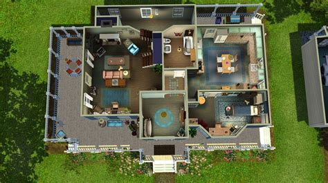 layout of gilmore house mod the sims the gilmore girls house