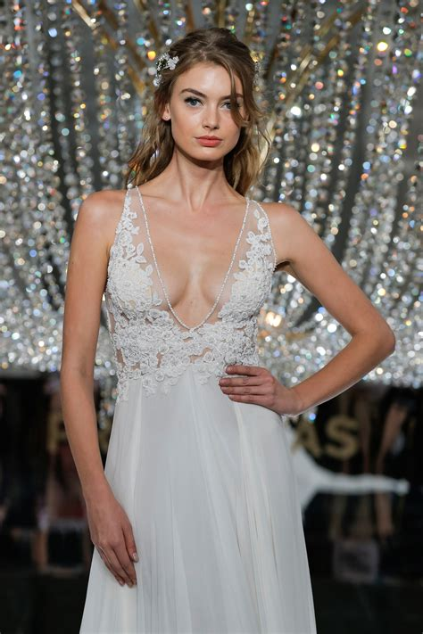bridal fashion week the 2018 atelier pronovias collection at new york bridal