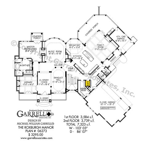 Manor House Plans roxburgh manor house plan house plans by garrell