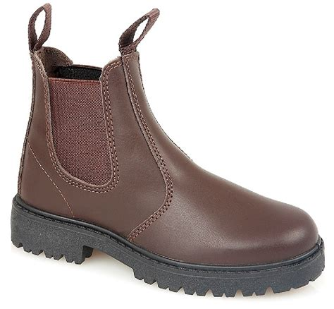 Kickers Boot New 710 new boys brown slip on leather dealer