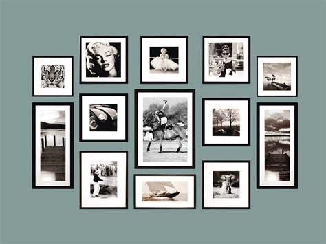 Cadre Photo Noir Et Blanc 46 ides dimages de mur avec cadre photo