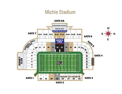 michie stadium seating chart army ticket office seating charts