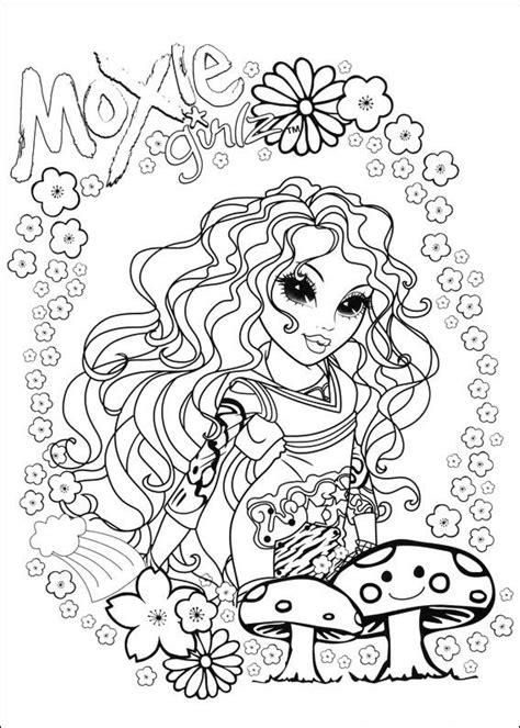 moxie girlz coloring pages kids n fun com coloring page moxie girlz moxie girlz