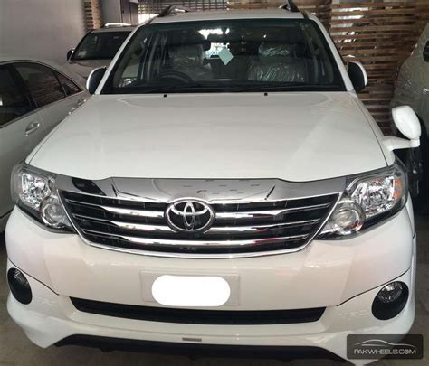 All New Fortuner Air Scoop Colour By Request toyota fortuner trd sportivo 2015 for sale in islamabad pakwheels