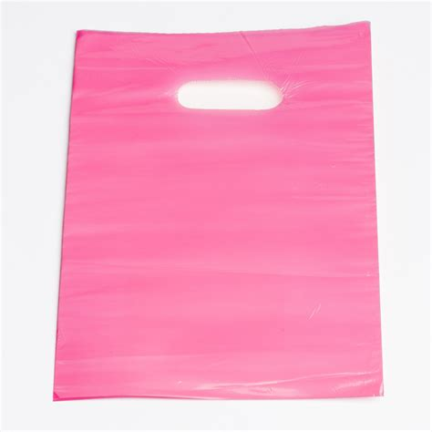 Plastic For Pink pink plastic shopping bags small a b store fixtures